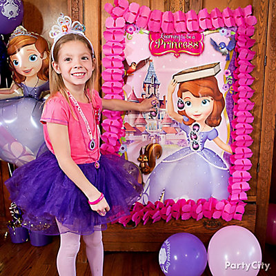 Sofia the First Pin-It Game Idea