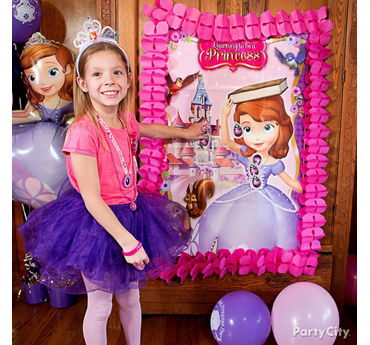 Sofia the First Pin It Game Idea