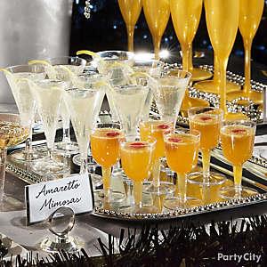 NYE Amaretto Mimosas Idea