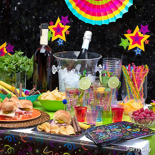 NYE Tropical Fiesta Menu Ideas