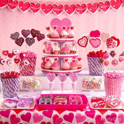 Valentines Day Treat Display Idea