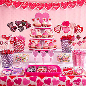 Valentine's Day Treat Display Idea