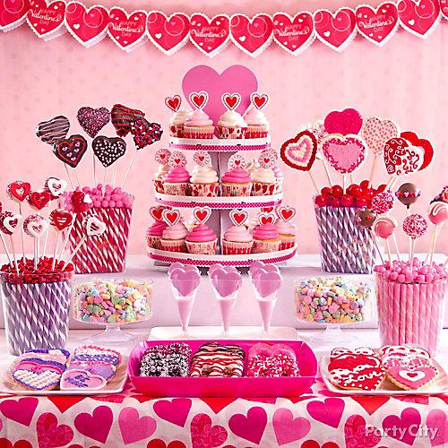 Valentine's Day Treat Display Idea