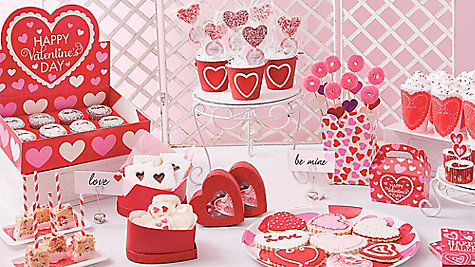 valentines day dainty treat display idea - valentines day vintage, Ideas