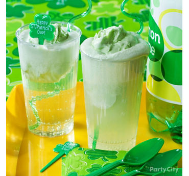Fizzy Patrick Lime Sherbet Coolers Recipe