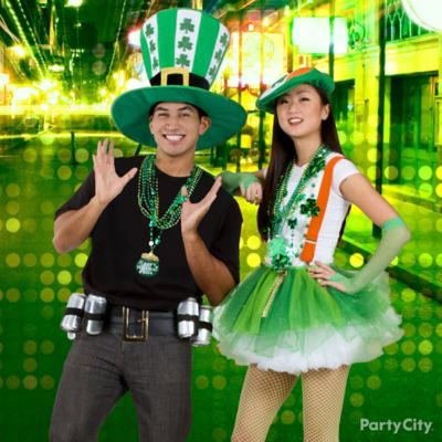 St. Paddy's Lucky Couple Costume Idea