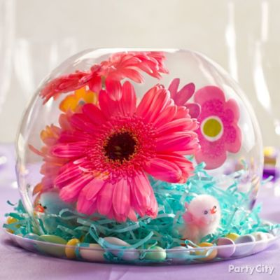 Spring Globe Centerpiece Idea