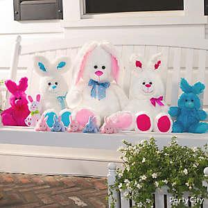 Easter Plush Bunny Family Idea