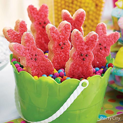 Peeps Crispy Rice Bunny How To