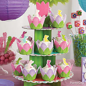 Tulip Bunny Cupcake How To