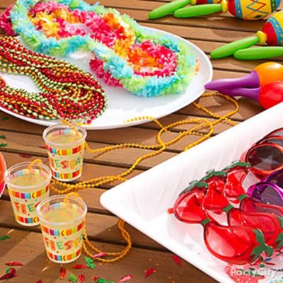 Mexican Party Table Decorating Idea