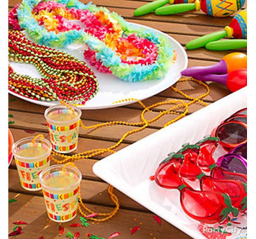 Fiesta Table Decorating Idea