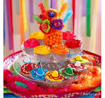 Dessert Sombrero Fiesta Display Idea