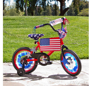4th of July Bike Decorating Ideas  sc 1 st  Party City : patriotic party decorating ideas - www.pureclipart.com