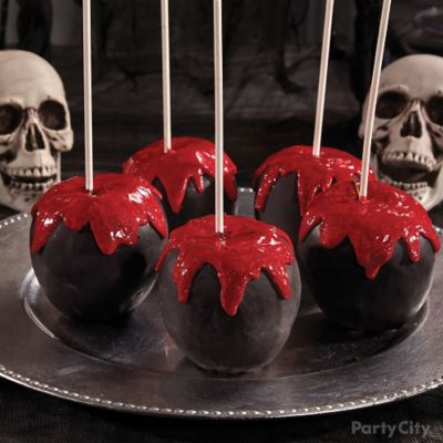 Bloody Good Candy Apples How To
