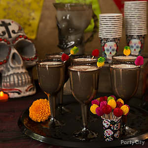 Day of the Dead Calacas Coladas Cocktail Recipe