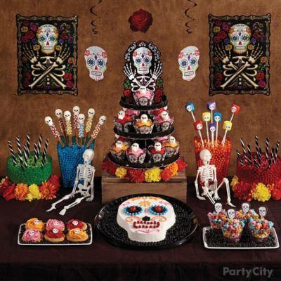 Day of the Dead Treats Table Idea