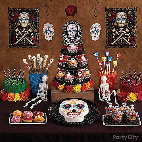 Day of the Dead Treats Table Idea