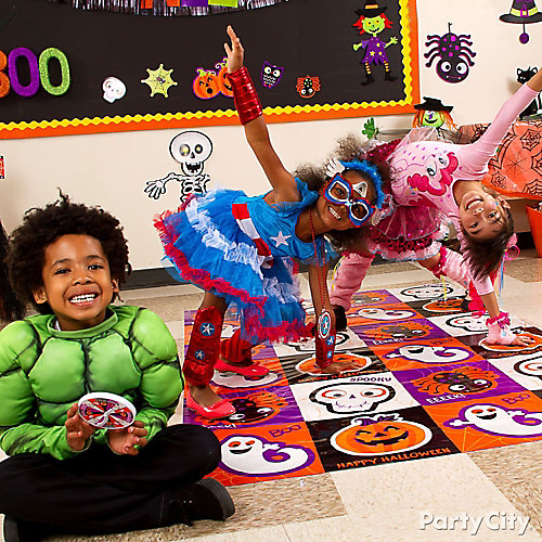 Classroom Birthday Party Games ~ Halloween class games idea party city
