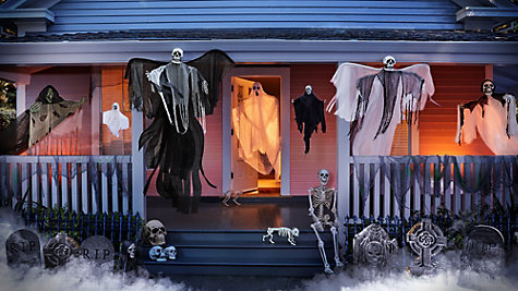 Haunted House Entrance Ideas