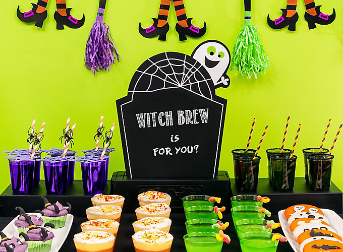kid friendly halloween drink recipes