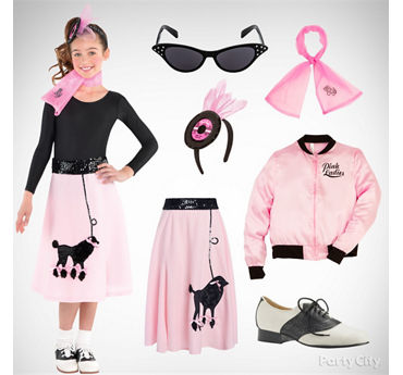 Girls' Fifties Cutie Costume Idea