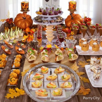 Thanksgiving Mini Tasting Party Idea