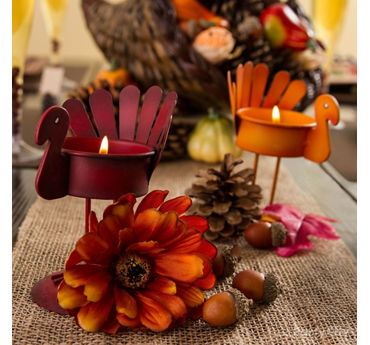 Turkey Tealight Idea