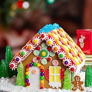 Candyrific Gingerbread House Idea