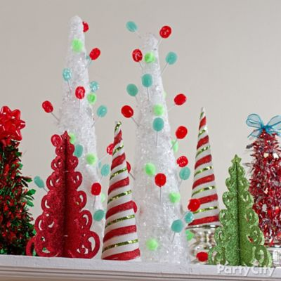 Christmas Lollipop Tree DIY