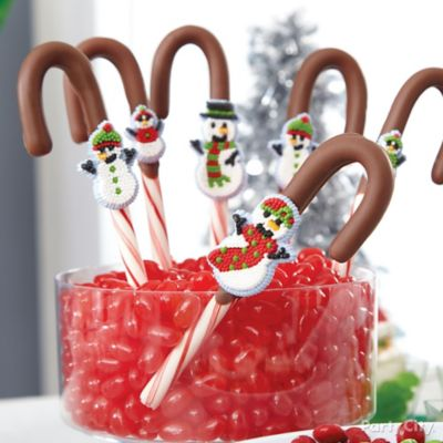 Candy Dipped Candy Canes How To