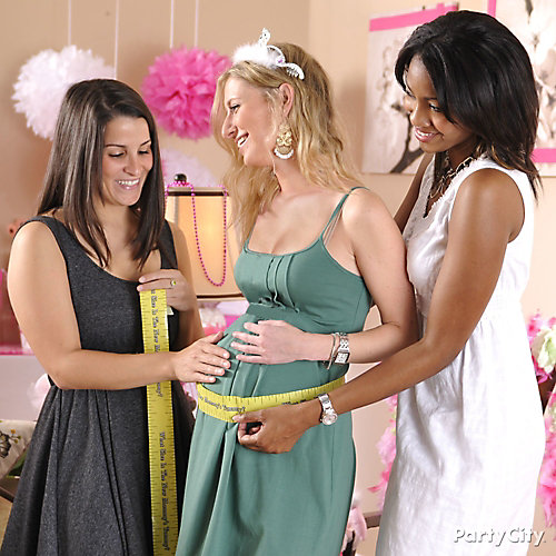 Baby Shower Tummy Measure Game Idea