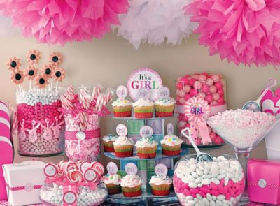 Baby Showers Girl Ideas ~ Baby shower ideas baby shower party ideas party city party city