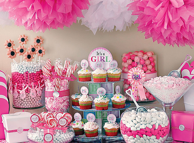 Baby Shower Candy Buffet Ideas