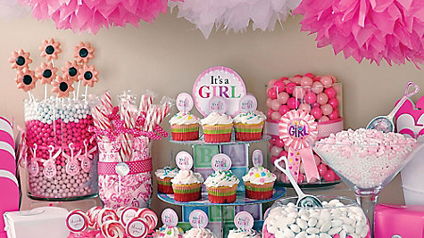 Girl Baby Shower Decorations For Tables Diabetesmangfo