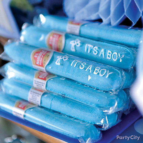 Lovely Baby Shower Candy Cigars Idea