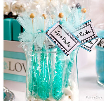 Personalized Rock Candy Favors Idea