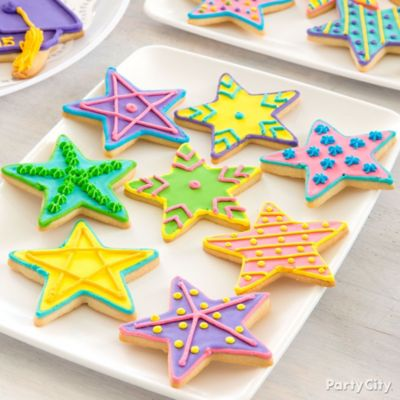 Bright Star Cookie How To