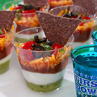 Individual Chips Dip Cups Idea