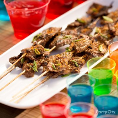 Grilled Marinated Beef Kabobs How To