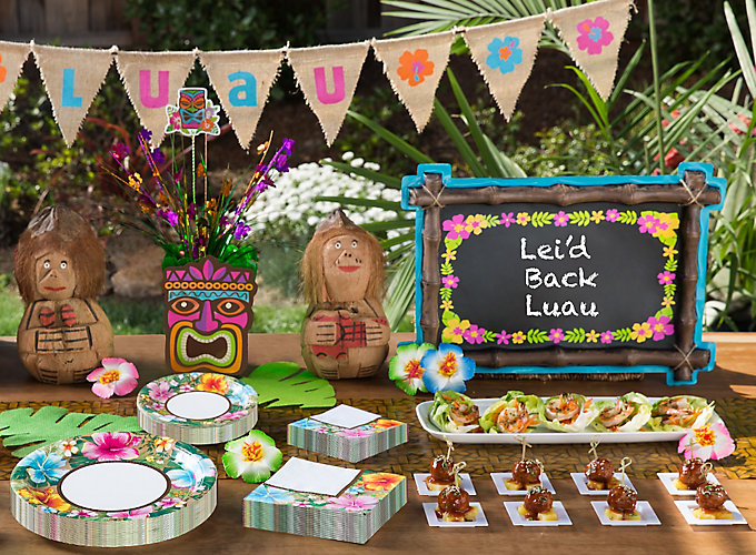 Kids Cocktail Party Ideas Part - 42: Totally Tiki Luau Party Ideas