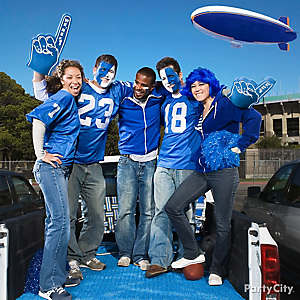 Football Tailgating Dress Up Ideas
