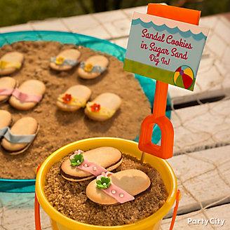 Flip Flop Cookies Idea