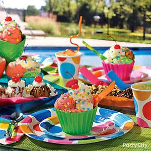 Summer Ice Cream Social Idea