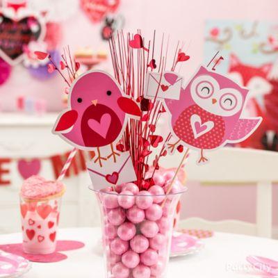 Gumball Centerpiece Idea Valentines Day Kids Party Ideas