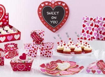 Fan Decoration Idea Valentines Day Kids Party Ideas Valentines