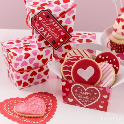 Valentines Dessert Box Idea