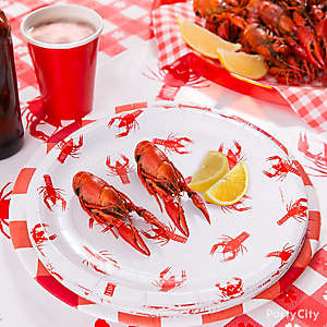Crawfish Place Setting Idea