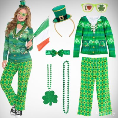 st patricks sassy plaid outfit idea st patricks day