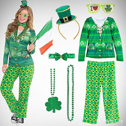 St. Patricks Cozy Outfit Idea